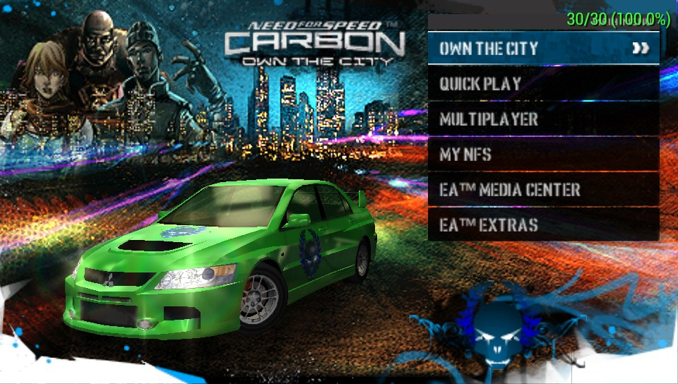 nfs carbon 100 save game pc download