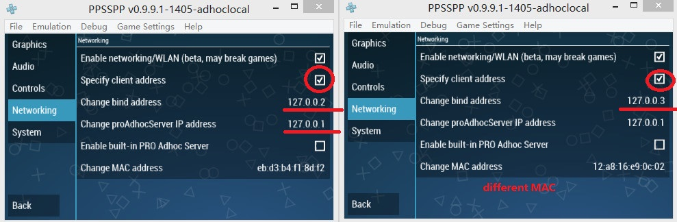 Tutorial] How to play multiplayer on one PC  testing PPSSPP adhoclocal