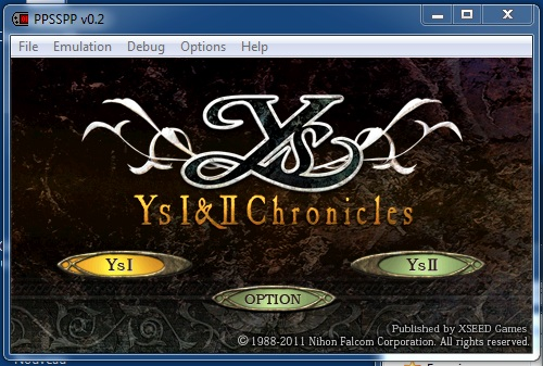 Ys I & II Chronicles
